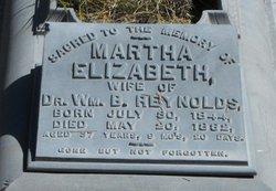 Martha Elizabeth <I>Lincoln</I> Reynolds