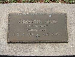 "Alexander ""Alex"" Adler"