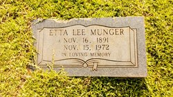 Etta Lee <I>Young</I> Munger