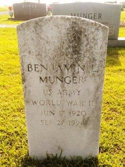 Benjamin Lloyd Munger