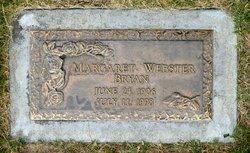 Margaret <I>Webster</I> Bryan