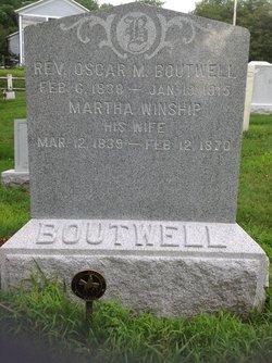 Rev Oscar Mason Boutwell