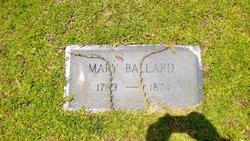Mary Frances <I>Ballenger</I> Ballard