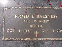 Floyd Edger Balsness