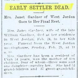 Janet <I>Livingston</I> Gardner