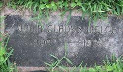 Viola Gladys <I>Hughes</I> Welch
