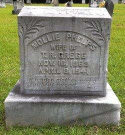 """Mary Catherine """"Mollie"""" <I>Phelps</I> Gregg"""