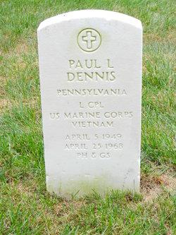 LCpl Paul Leslie Dennis