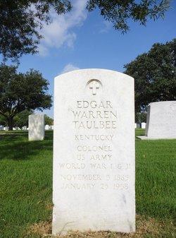 Edgar Warren Taulbee