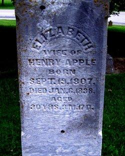 "Elizabeth ""Betsy"" <I>Rodeheffer</I> Apple"