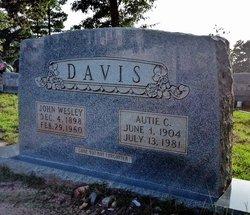 Autie C. Davis