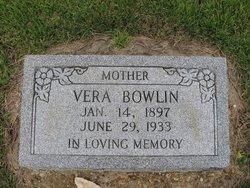 Vera <I>White</I> Bowlin