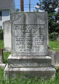 Ethel Virginia <I>Campbell</I> Broyles