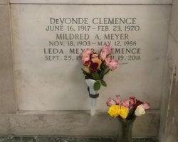 Leda Welva <I>Meyer</I> Clemence