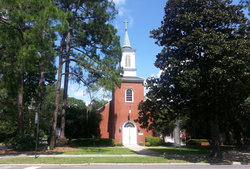 Christ Episcopal Church Urn Garden