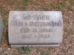 Mary A Diefenderfer