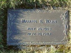Muriel Emily <I>Stevens</I> Warn