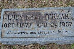 Lucy Neal <I>Almond</I> O'Rear