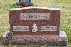 Rosemary Ellen <I>Walker</I> Scholles