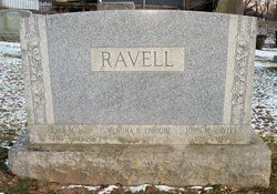 "Wenona Belle ""Winnie"" <I>Ebright</I> Ravell"