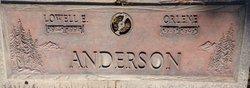 Orlene <I>Gideon</I> Anderson