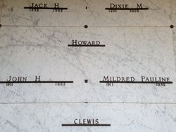 """Mildred Pauline """"Polly"""" <I>Harris</I> Howard"""