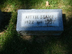 "Kathryn A ""Kittie"" <I>Paul</I> Stamp"