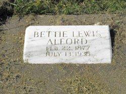 Bettie <I>Lewis</I> Alford