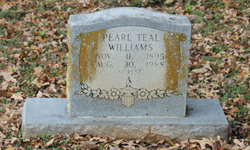 Pearl <I>Teal</I> Williams