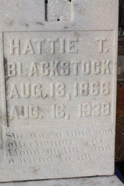 "Harriett T. ""Hattie"" <I>Nalley</I> Blackstock"