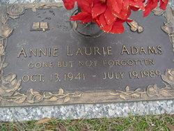Annie Laurie Adams