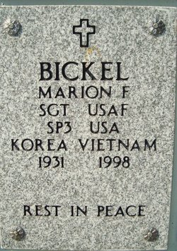 Marion F Bickel