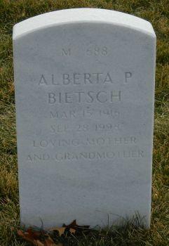 Alberta P <I>McCarthy</I> Bietsch