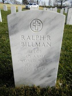 Ralph R Billman