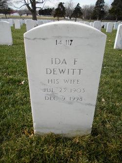 Ida F Dewitt