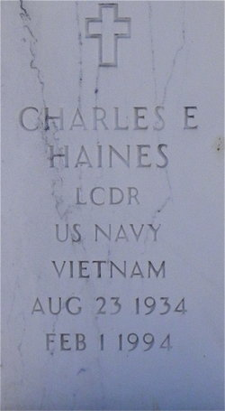 Charles E Haines