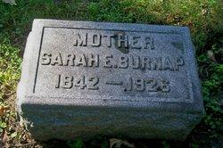 Sarah E <I>Marsh</I> Burnap