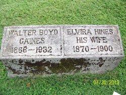 Elvira <I>Hines</I> Gaines