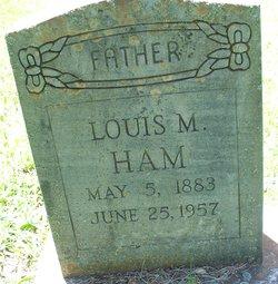 save off 5d7e0 bf4c9 Louis Melvin Ham (1883-1957) - Find A Grave Memorial