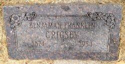 Benjamin Franklin Grigsby