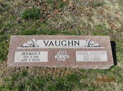 Louise L <I>Shannon</I> Vaughn