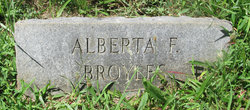 Alberta Francis <I>Woodward</I> Broyles