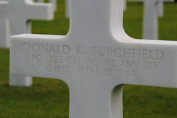 PFC Donald K Burchfield