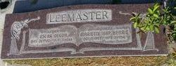 "Mariette ""Hap"" <I>Henrie</I> LeeMaster"