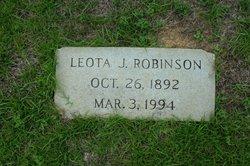 Leota L <I>Jones</I> Robinson