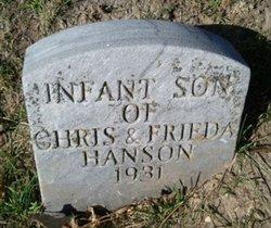 Infant Son Hanson