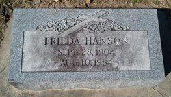 Freida <I>Schraepfer</I> Hanson