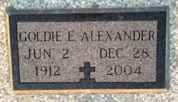 Goldie E. <I>Smith</I> Alexander