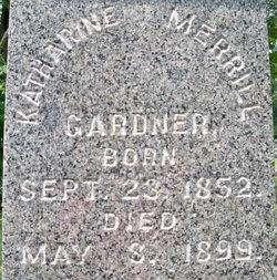 """Katharine Merrill """"Kate"""" Gardner"""