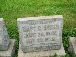 Mary C <I>Hughes</I> Aunks